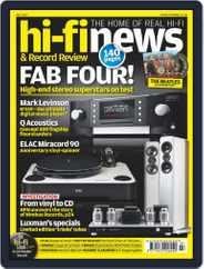 Hi Fi News (Digital) Subscription July 1st, 2017 Issue
