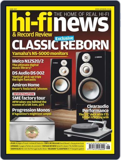 Hi Fi News June 1st, 2017 Digital Back Issue Cover