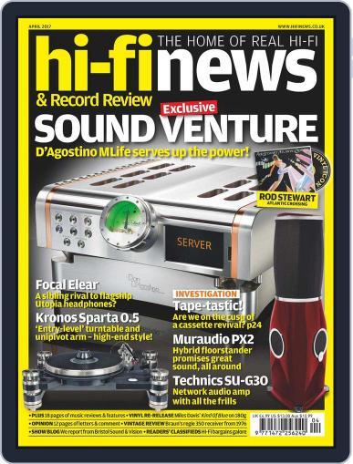 Hi Fi News (Digital) April 1st, 2017 Issue Cover