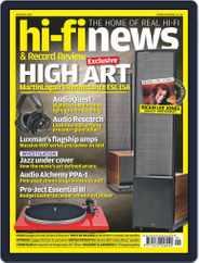 Hi Fi News (Digital) Subscription January 1st, 2017 Issue
