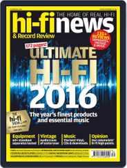 Hi Fi News (Digital) Subscription October 1st, 2016 Issue