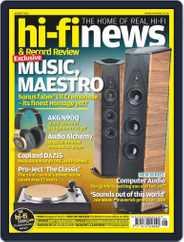 Hi Fi News (Digital) Subscription July 1st, 2016 Issue