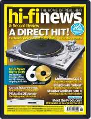 Hi Fi News (Digital) Subscription May 6th, 2016 Issue