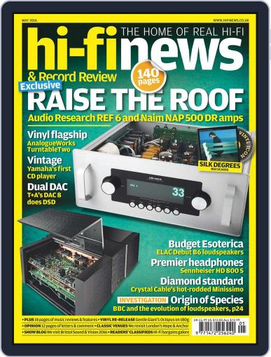 Hi Fi News (Digital) April 8th, 2016 Issue Cover