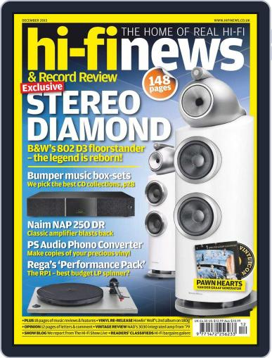 Hi Fi News (Digital) November 12th, 2015 Issue Cover