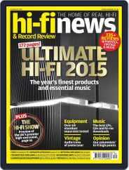 Hi Fi News (Digital) Subscription October 16th, 2015 Issue