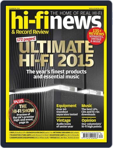 Hi Fi News (Digital) October 16th, 2015 Issue Cover