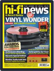 Hi Fi News (Digital) Subscription August 21st, 2015 Issue