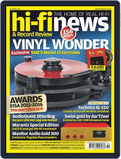 Hi Fi News (Digital) August 21st, 2015 Issue Cover