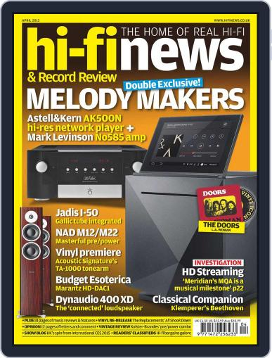 Hi Fi News (Digital) April 1st, 2015 Issue Cover
