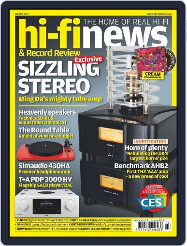 Hi Fi News (Digital) February 10th, 2015 Issue Cover