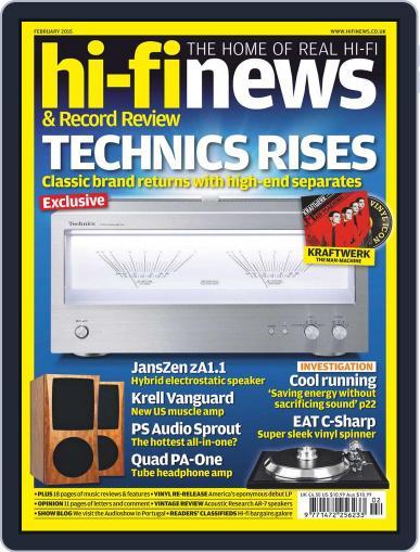Hi Fi News (Digital) January 2nd, 2015 Issue Cover