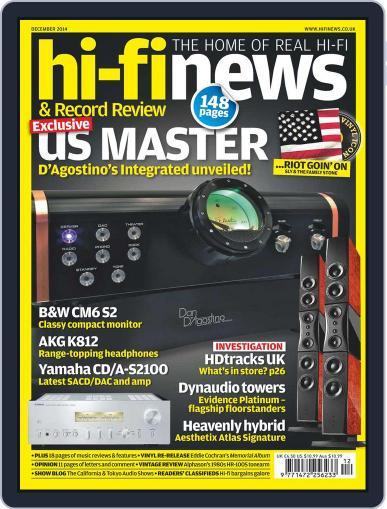 Hi Fi News (Digital) November 6th, 2014 Issue Cover