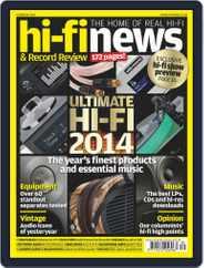 Hi Fi News (Digital) Subscription October 9th, 2014 Issue