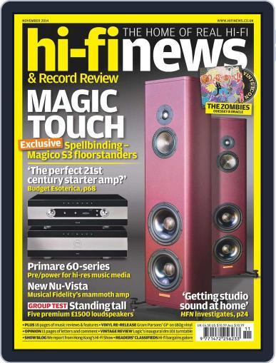 Hi Fi News (Digital) September 11th, 2014 Issue Cover