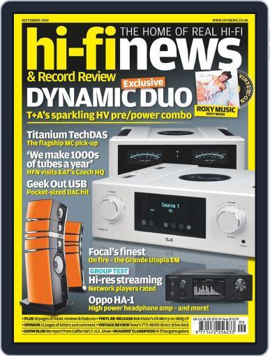 Hi Fi News (Digital) July 17th, 2014 Issue Cover