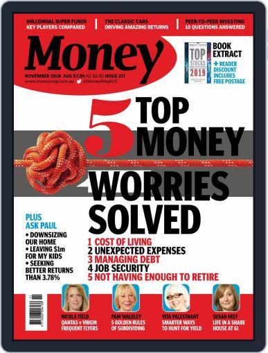 Money Australia November 1st, 2018 Digital Back Issue Cover