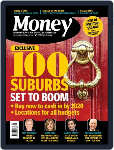 Money Australia (Digital) September 1st, 2018 Issue Cover
