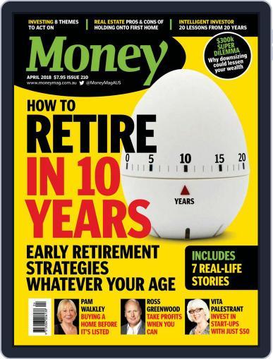 Money Australia April 1st, 2018 Digital Back Issue Cover