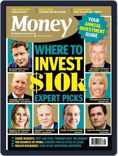 Money Australia September 1st, 2017 Digital Back Issue Cover