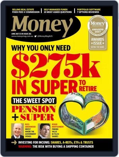 Money Australia June 1st, 2017 Digital Back Issue Cover