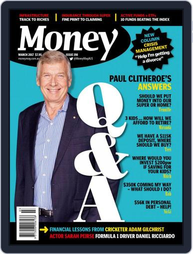 Money Australia March 1st, 2017 Digital Back Issue Cover