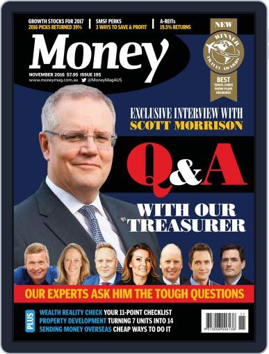 Money Australia November 1st, 2016 Digital Back Issue Cover
