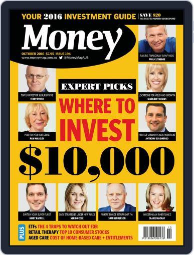 Money Australia October 1st, 2016 Digital Back Issue Cover