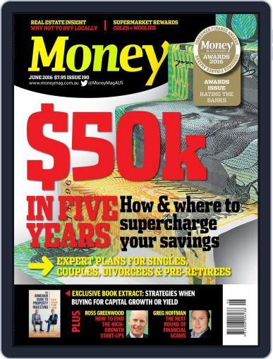 Money Australia June 1st, 2016 Digital Back Issue Cover