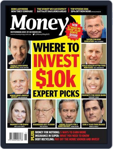 Money Australia (Digital) October 31st, 2015 Issue Cover