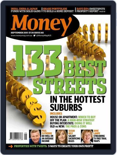 Money Australia (Digital) August 31st, 2015 Issue Cover