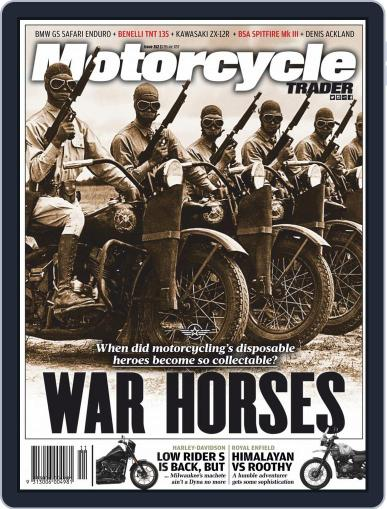 Motorcycle Trader (Digital) November 1st, 2019 Issue Cover