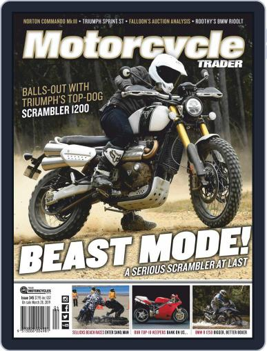 Motorcycle Trader April 1st, 2019 Digital Back Issue Cover