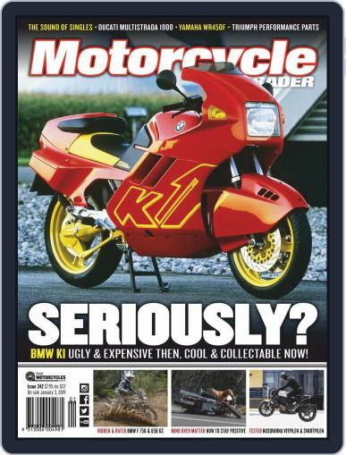 Motorcycle Trader (Digital) January 1st, 2019 Issue Cover