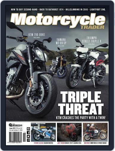 Motorcycle Trader November 1st, 2018 Digital Back Issue Cover