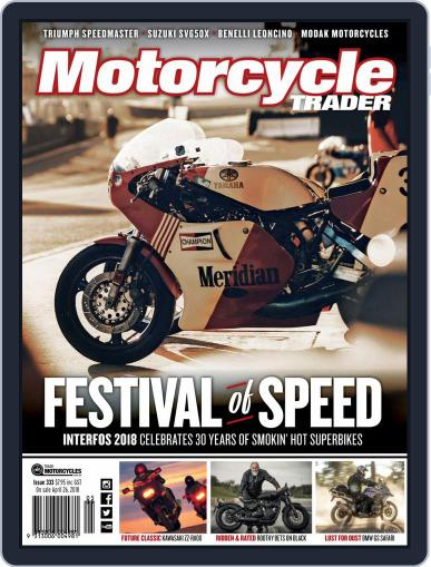 Motorcycle Trader May 1st, 2018 Digital Back Issue Cover