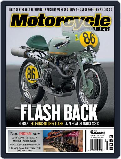 Motorcycle Trader (Digital) April 1st, 2018 Issue Cover