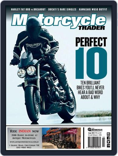 Motorcycle Trader February 1st, 2018 Digital Back Issue Cover