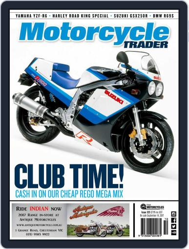 Motorcycle Trader October 1st, 2017 Digital Back Issue Cover