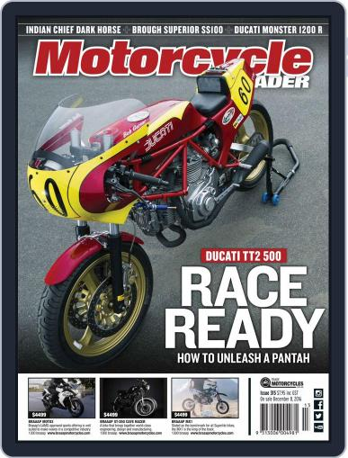 Motorcycle Trader (Digital) January 1st, 2017 Issue Cover