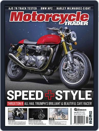 Motorcycle Trader (Digital) November 1st, 2016 Issue Cover