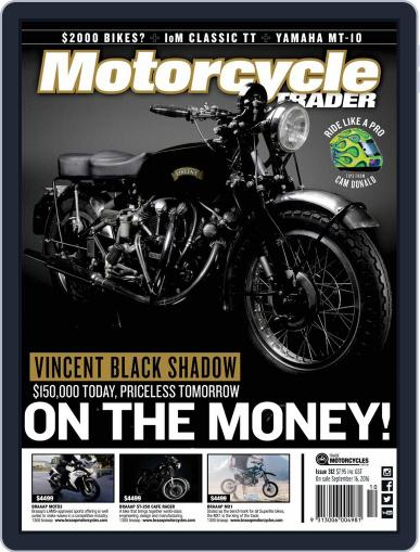 Motorcycle Trader (Digital) October 1st, 2016 Issue Cover