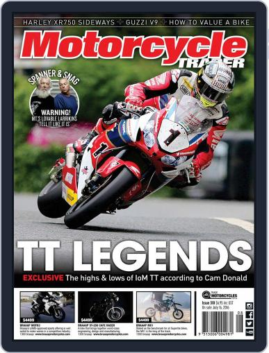 Motorcycle Trader (Digital) July 21st, 2016 Issue Cover