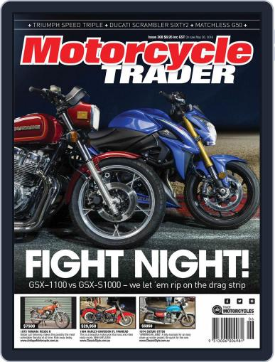 Motorcycle Trader May 26th, 2016 Digital Back Issue Cover