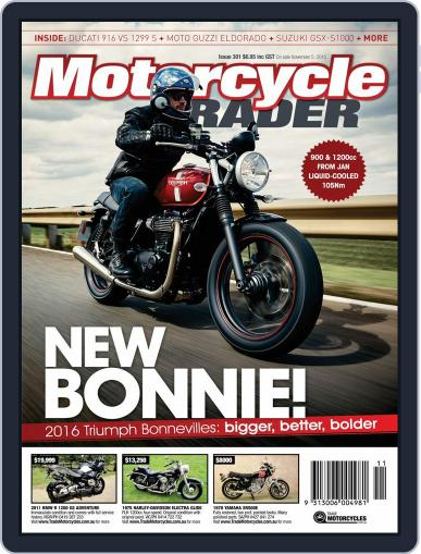 Motorcycle Trader November 5th, 2015 Digital Back Issue Cover