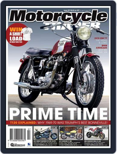 Motorcycle Trader (Digital) July 1st, 2015 Issue Cover
