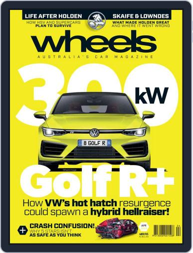 Wheels April 1st, 2020 Digital Back Issue Cover