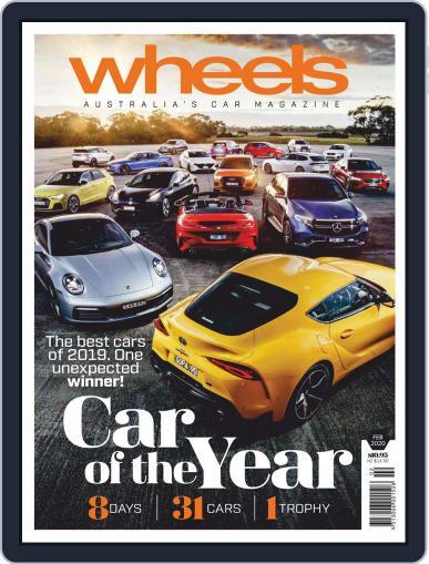 Wheels (Digital) February 2nd, 2020 Issue Cover