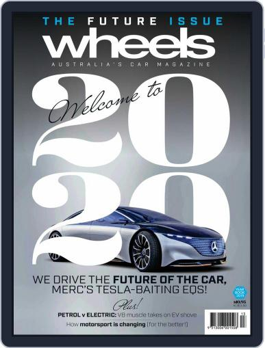 Wheels January 1st, 2020 Digital Back Issue Cover