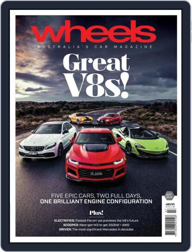 Wheels July 1st, 2019 Digital Back Issue Cover